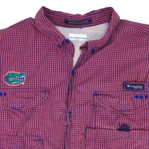Columbia PFG Long Sleeve Shirt 2XL, Florida Gators